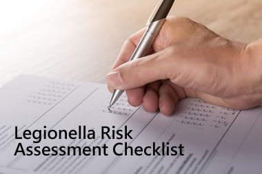 Legionella risk assessment checklist