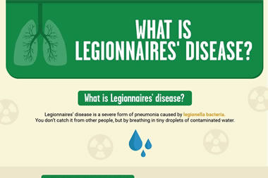 What is Legionnaires disease infographic
