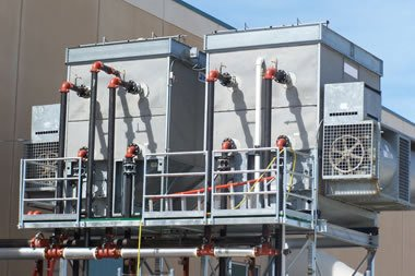 Cooling towers & the use of chlorine dioxide