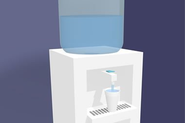 Water coolers banned in Scotland's hospitals